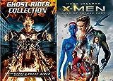 Wolverine Vs Ghost Rider: Ghost Rider/ Ghost Rider Spirit Of Vengeance & X-Men Days of Future Past (3-Movie Marvel DVD Bundle)