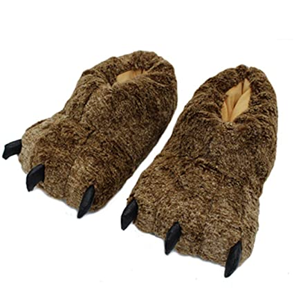 Amazon.com Nafanio Winter Paw Slippers Boots Funny Animal