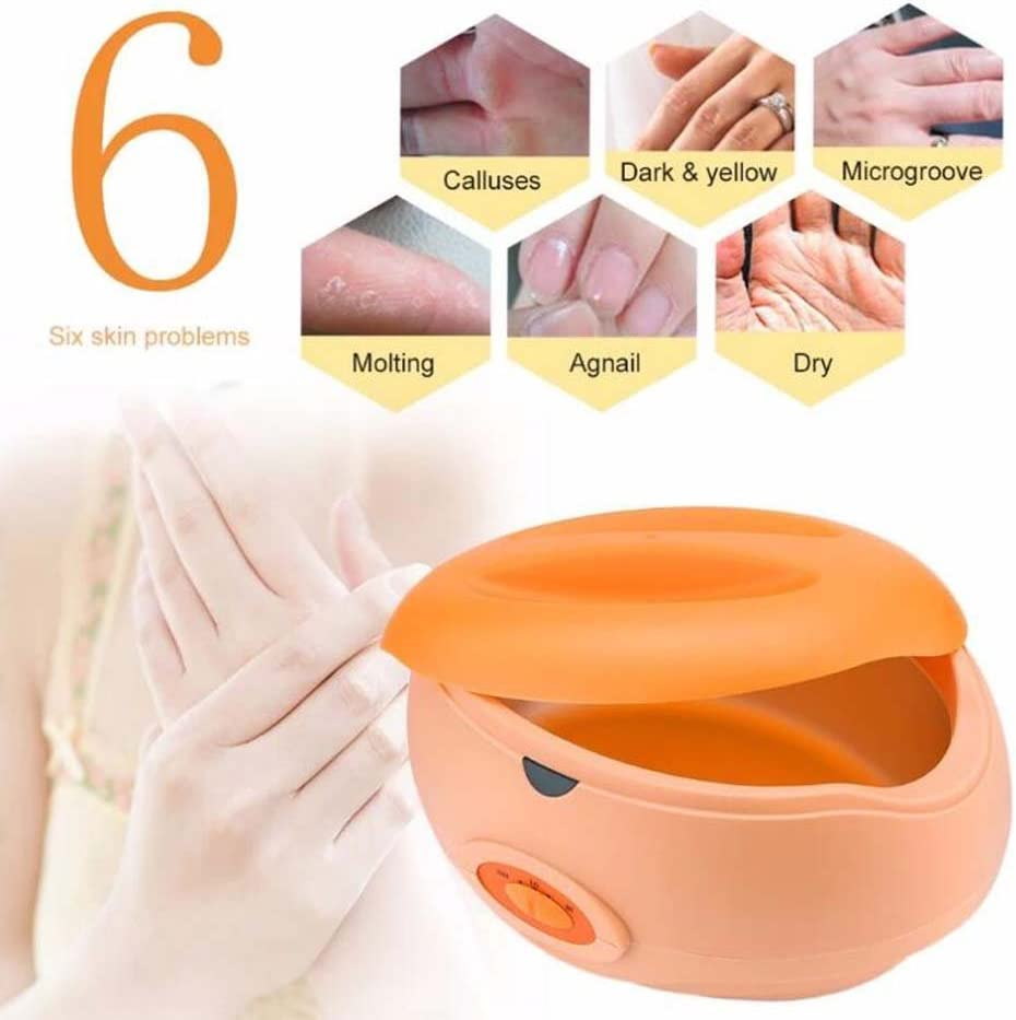 QJHP Hair Remover Wax Warmer for Family Beauty Salons Deep Cleansing Exfoliators Moisturizer Nourishing Skin Rejuvenation Whitening Wrinkle Remover