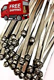 "Lot of 8"" inches long Metal Truck and Trailer Ball Security Seals - Metal Ball Seal – Metal Round Head Security Seals – Metal Round Head Seal (1,000 Pack)"