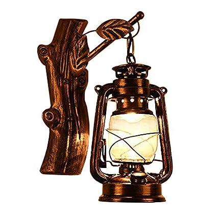 Jinguo Lighting Rustic Lantern Wall Mounted Light Industrial Vintage
