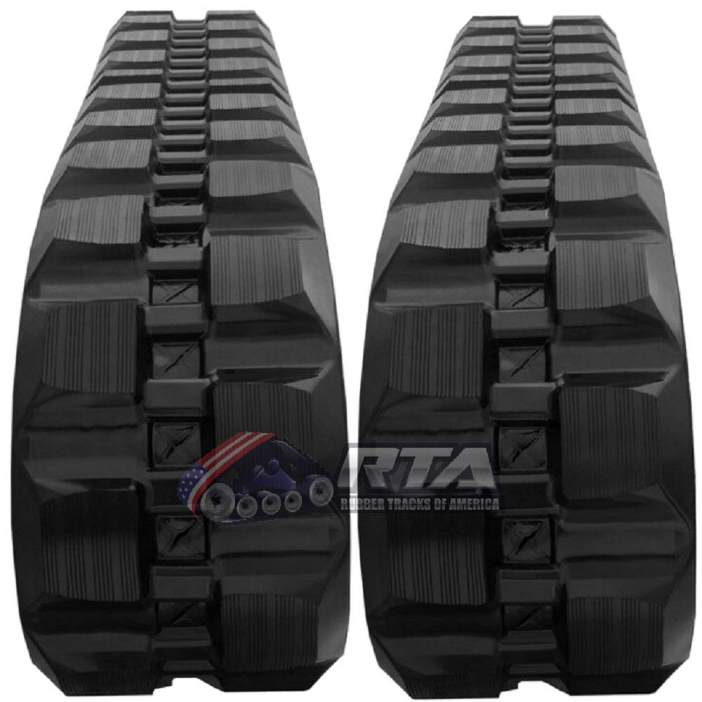Amazon com: Two Rubber Tracks for Bobcat T180 T190 T550 T590
