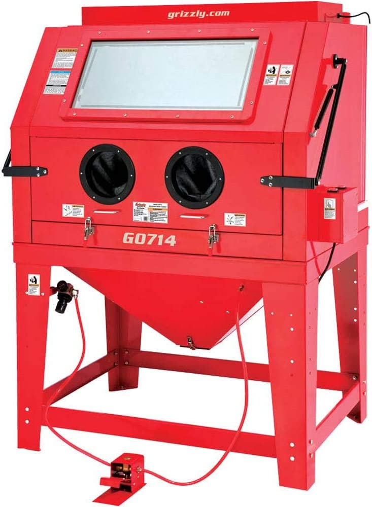 Grizzly Industrial G0714 - Industrial Blast Cabinet