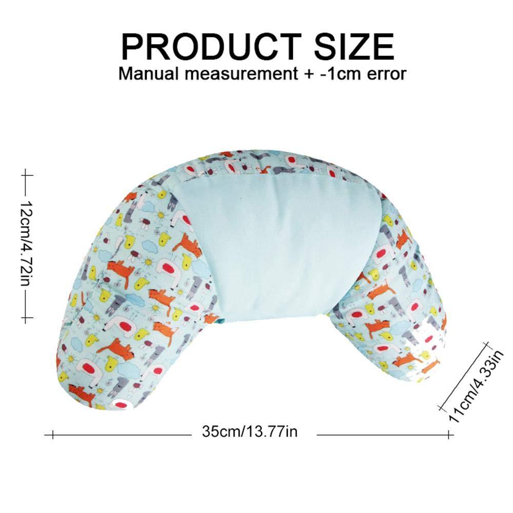 Shoulder Protector Cuscini Regolabili Collo Cuscino Sonno Cuscino per Cintura da Viaggio per Bambini e Adulti Car Seatbelt Pillow
