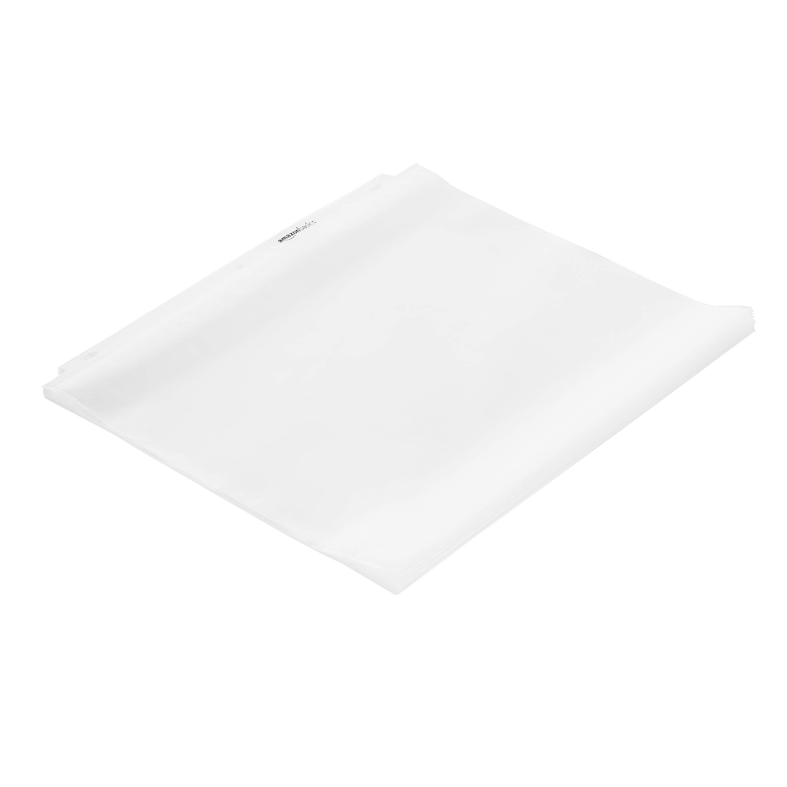 AmazonBasics Sheet Protector - Heavy Duty, Non-Glare, 500-Pack by AmazonBasics