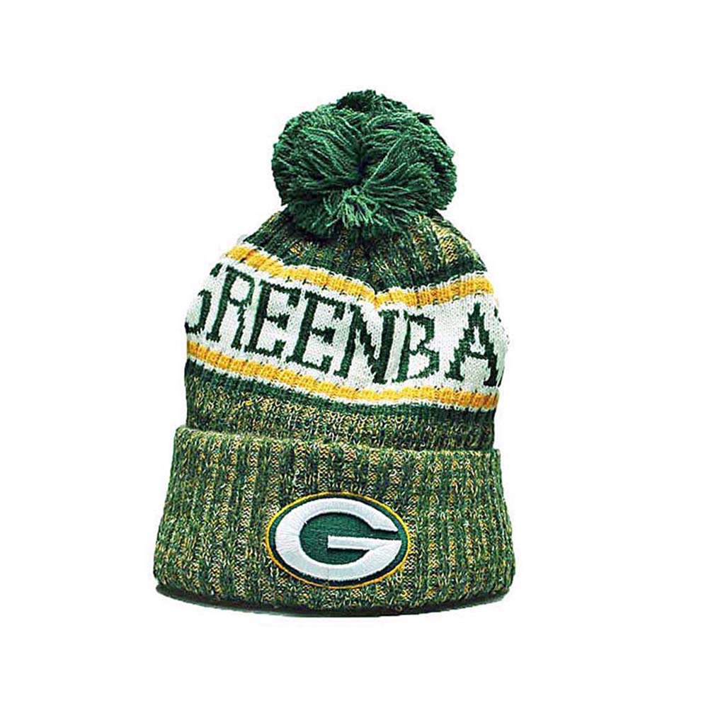 e5f9d319454 Fans Hats Winter Knit Cuffed Beanie Sports Hats Fashion Toque Cap for Gift  product image