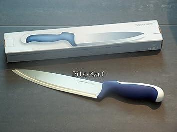 Tupperware D 87 Kochmesser Blau Weiss Ergonomic Serie