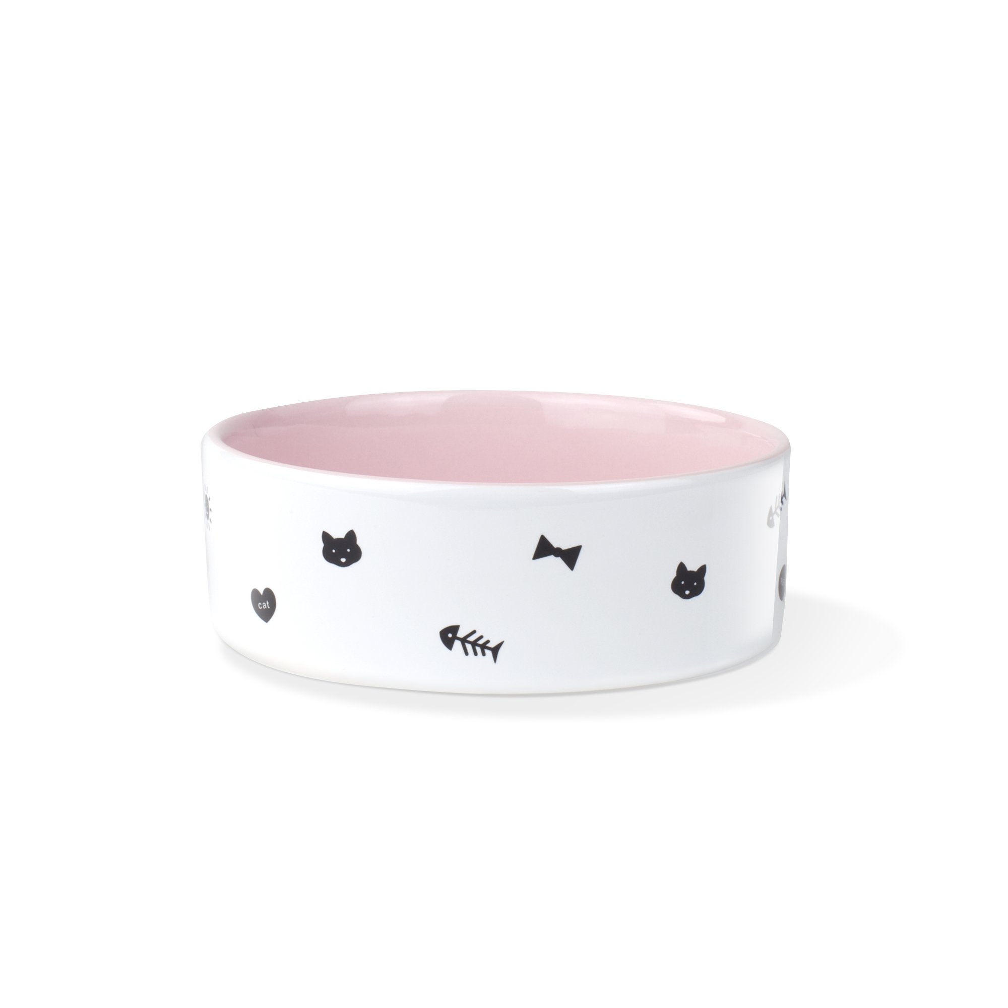 Fringe Studio Kitty Boss Small Straight Bowl (473040)