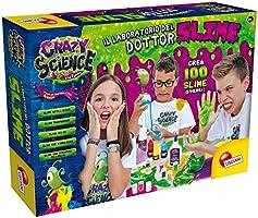 Lisciani Giochi - Crazy Science Il Grande Laboratorio del Dottor Slime,, 68685