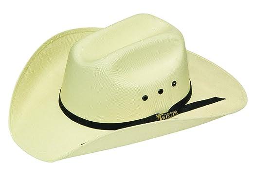 fbca9e2cd6d Amazon.com  M   F Western Girls  Twister Sancho Straw Cowboy Hat ...