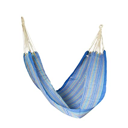 Slack Jack Brazilian SJ-BRAZH-D-BLUEStr Fabric Hammock (Multicolor)