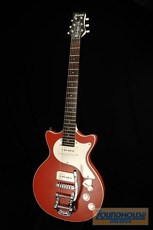 Framus Z1896DX9105 Cpash A5FW Earl Slick Signature Guitarra rojo ...