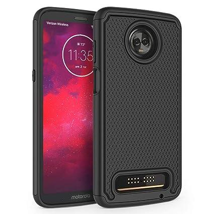 Amazon.com: SYONER - Carcasa para Motorola Moto Z3 y Moto Z3 ...