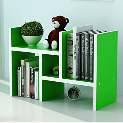 Fine Amazon Com Bookshelf Desktop Student Desktop Small White Download Free Architecture Designs Jebrpmadebymaigaardcom