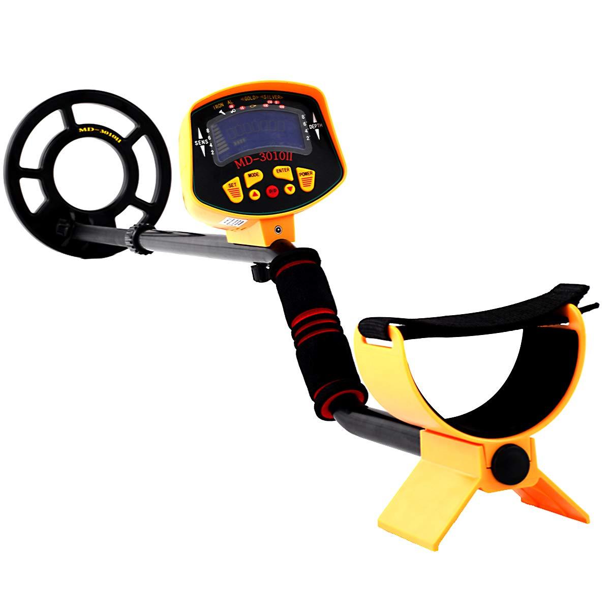Detectores de metal detector de metales de profundidad sensor detector de metal dispositivo de rastreo de hasta 1,5 m: Amazon.es: Bricolaje y herramientas