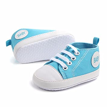 421ae5a1fb9a1 Lanhui Baby Shoes Never Worn for Girls Boy Infant Toddler Kids Newborn  Sneakers Solid Canvas Casual...