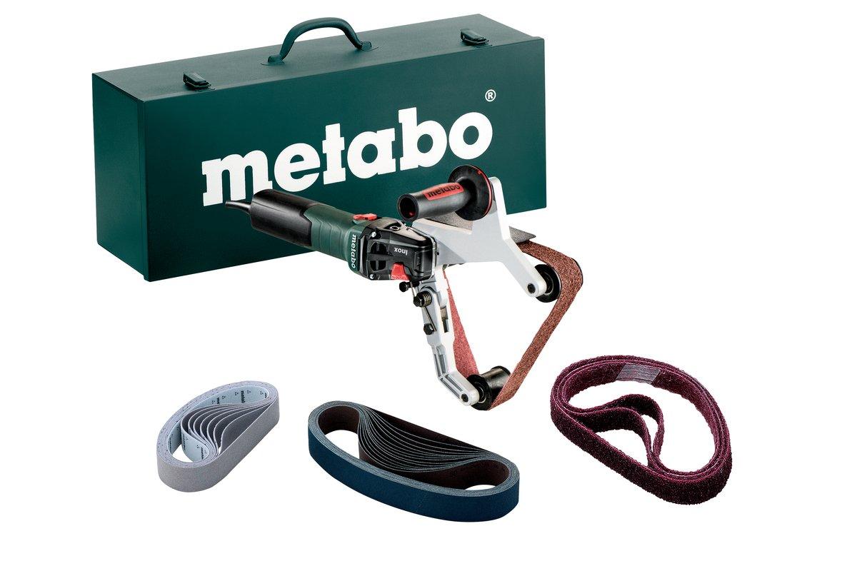 1 St/ück Metabo 1550 W Rohrbandschleifer RBE 15-180 Set 602243500