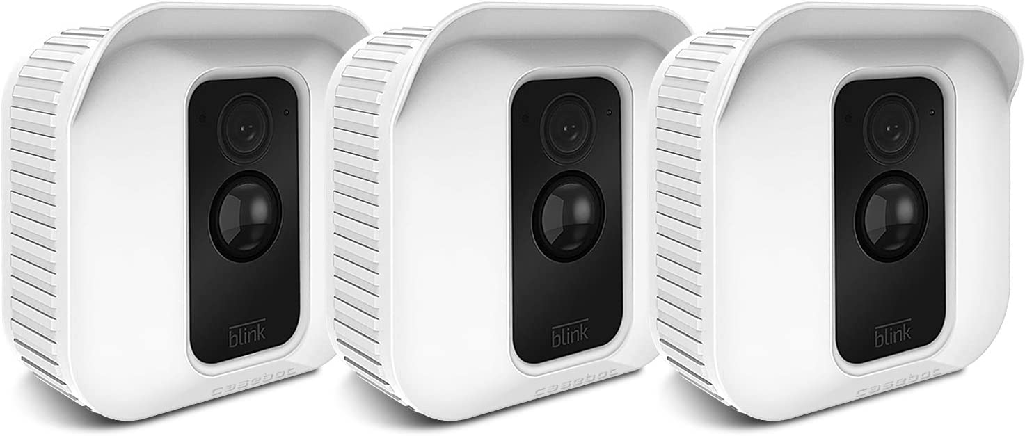 3 Pack Fintie Silicone Skin Case for Blink XT Outdoor Indoor Security Camera
