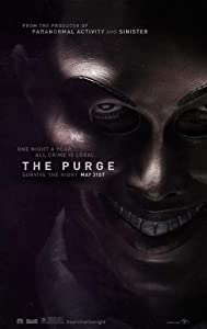 THE PURGE MOVIE POSTER 2 Sided ORIGINAL Advance 27x40 LENA HEADLY