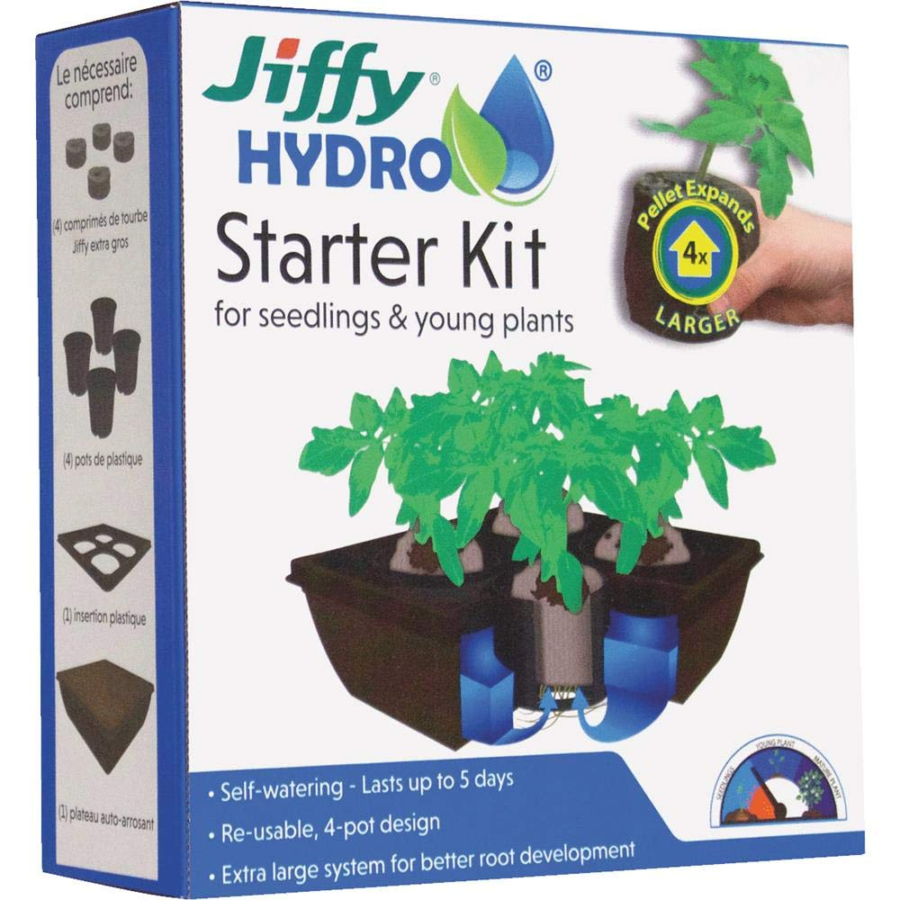 Jiffy JH4-8 - Kit de Iniciación: Amazon.es: Jardín
