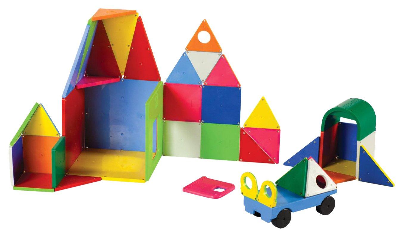 Magna-Tiles 02148 Solid Colors 48 pc DX set Toy Valtech (Magna-Tiles)