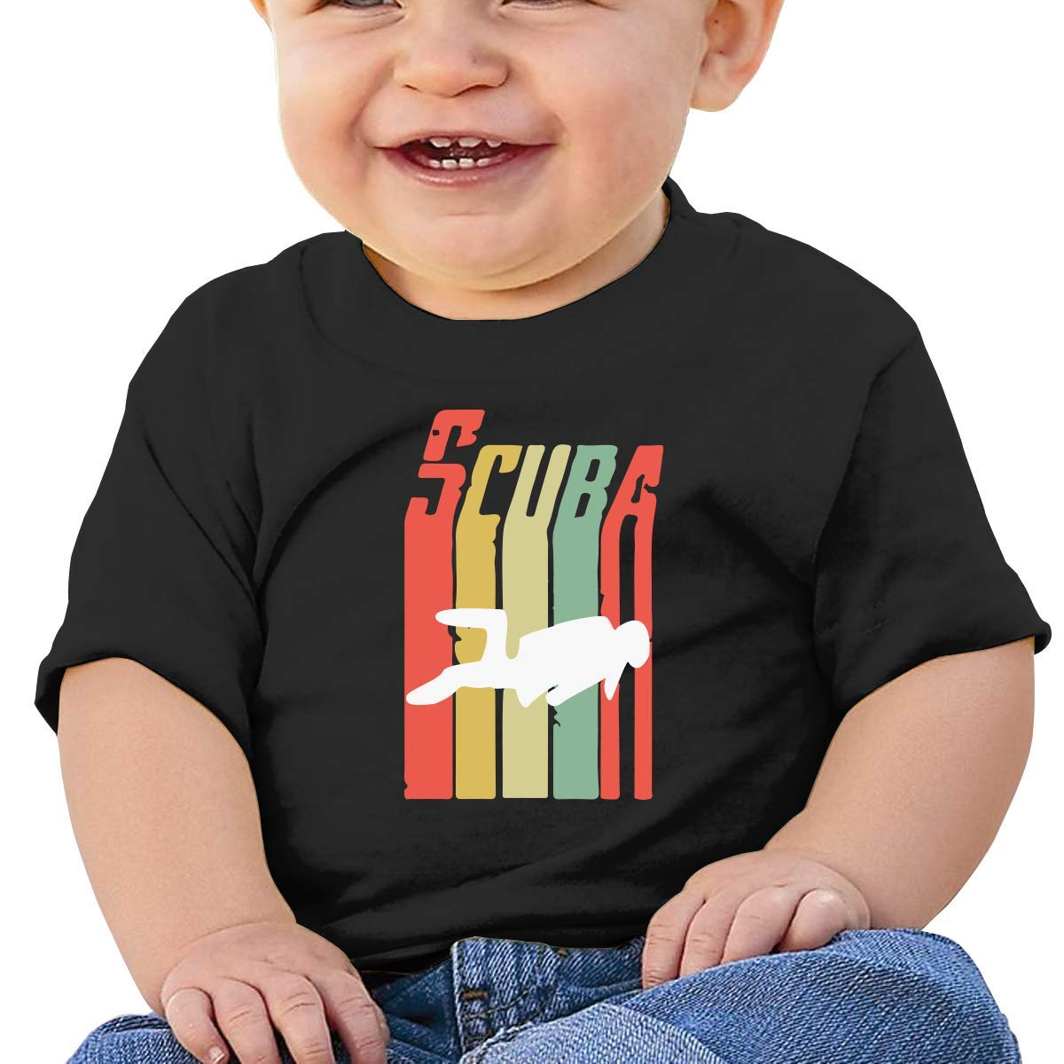 Live Love Autism Baby Boys Girls Short Sleeve Crew Neck T-Shirt