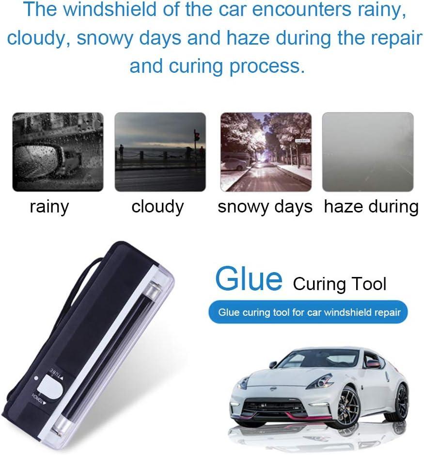 KATURN Auto UV Lampe Glasreparatur F/ür Alle Glasarte