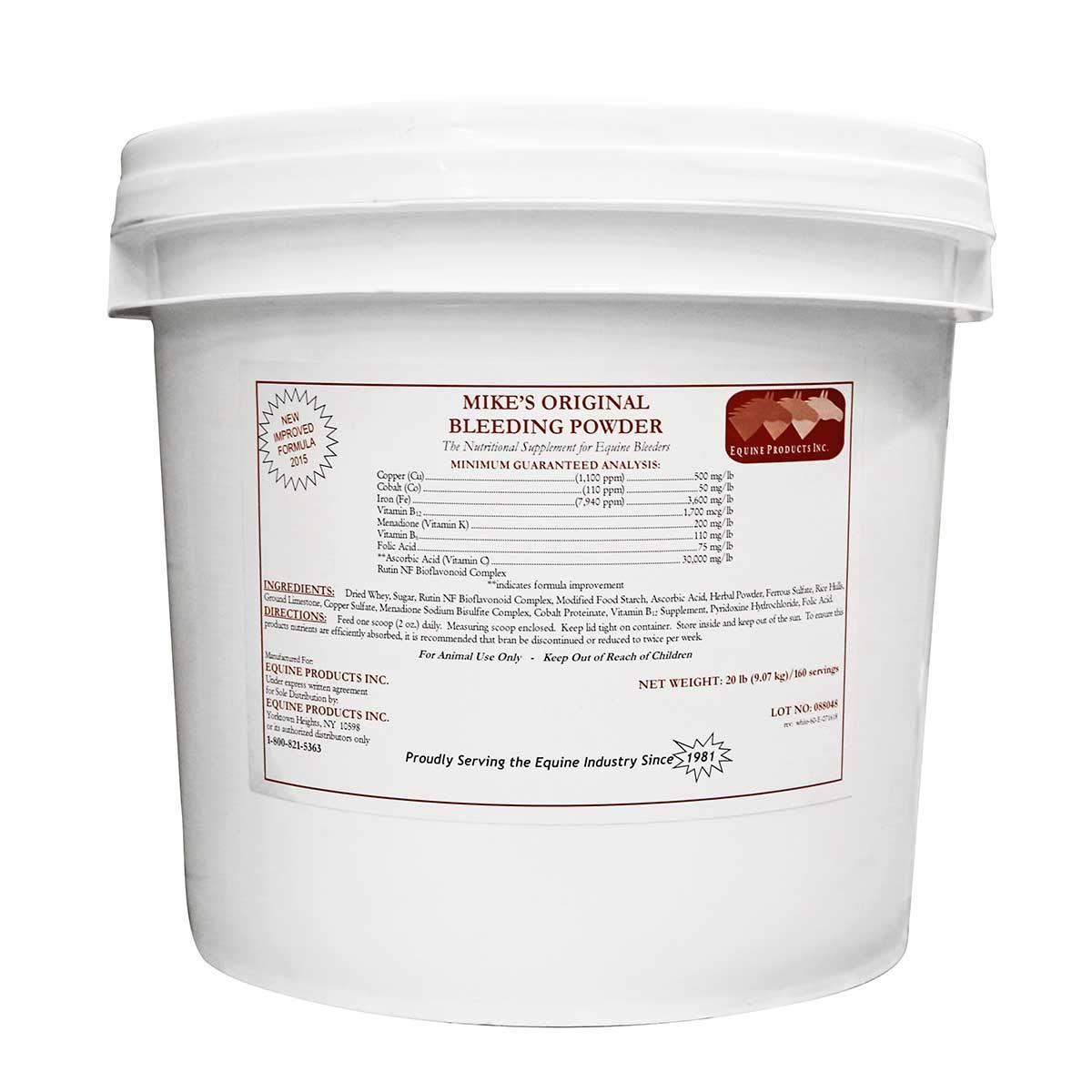 Equine Products Inc Mikes Original Bleeding Powder 20 lbs