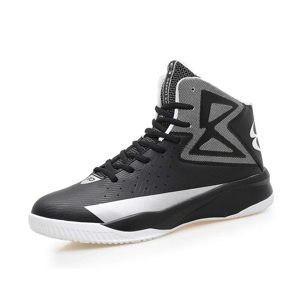 YSZDM Basketball-Schuhe, strapazierfähige, Rutschfeste High-Top-Turnschuhe Dämpfung atmungsaktive atmungsaktive atmungsaktive Herren Outdoor-Stiefel,Grün,43 B07MNWWSW3 Basketballschuhe Authentische Garantie 16f72b