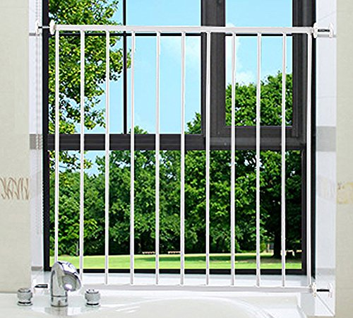 - ALLAIBB Child Safety Window Guards Baby Proof Removable Balcony Vertical Bars, 29.1-31.9 in
