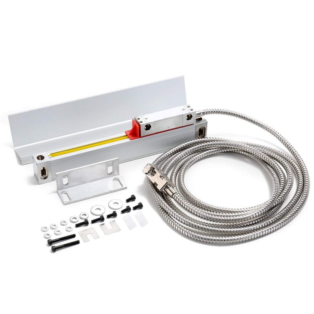 KKmoon Gitterlineal Elektronische Lineale Optisches Lineal Linearma/ßstab Fr/äsmaschine Drehmaschine Zubeh/ör