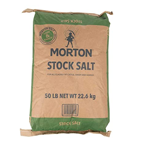 Amazon com : Russell Feed And Supply Stock Salt 50lb : Pet