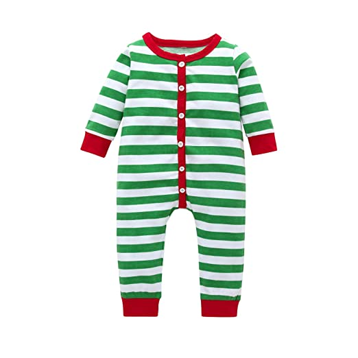 f5f835436 Amazon.com  Zukuco Toddler Baby Boy Girl Romper Stripe Jumpsuit ...