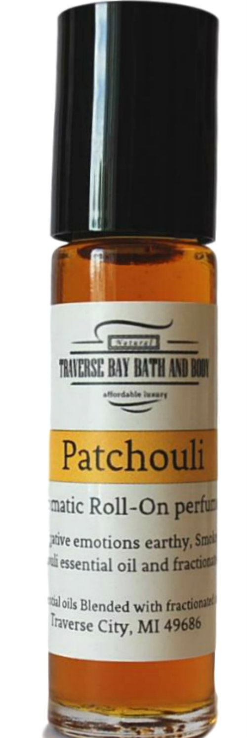 Patchouli aromatic perfume oil, Synergy Blend, blended with 100% pure Essential Oils.