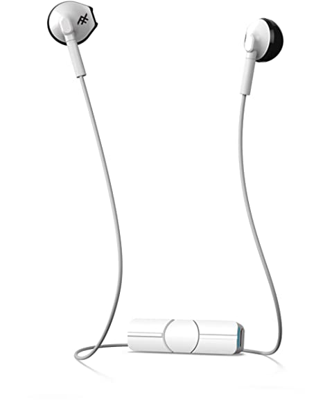 ceedc0fe3b6 Amazon.com: iFrogz in-Tone Wireless in Ear Headphones with MIC (White -  IFITNW-WH0): Home Audio & Theater