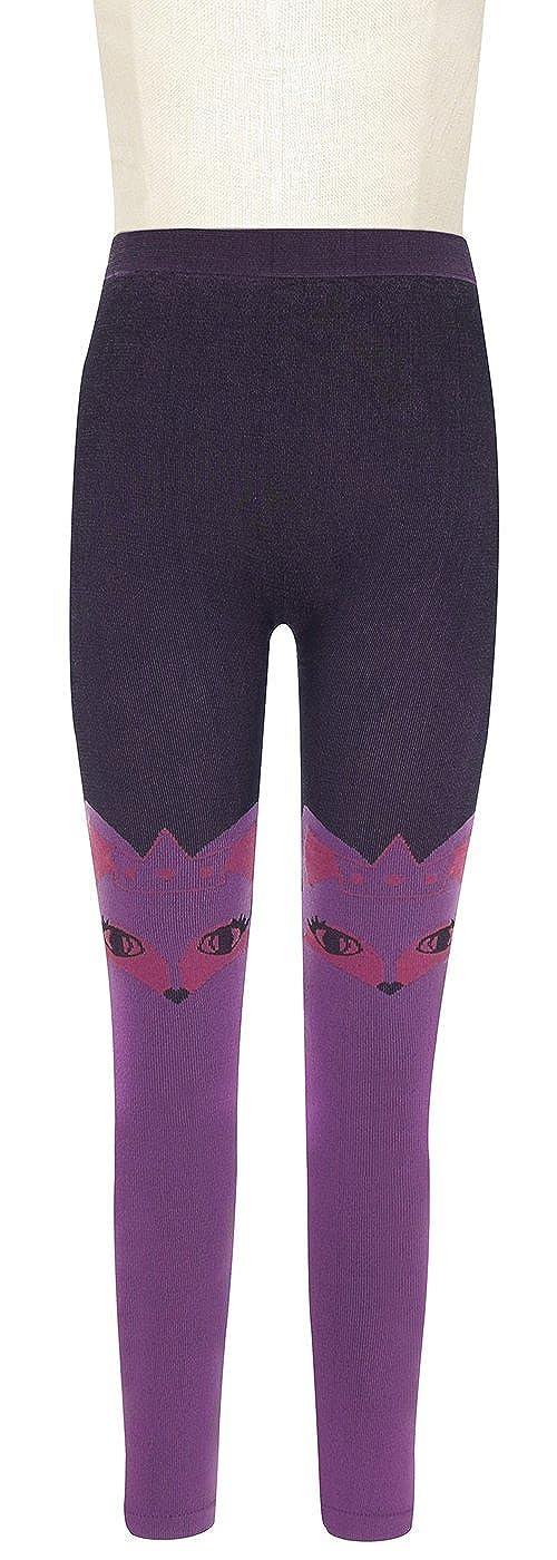Capelli New York Girls Over the Knee Jacquard Animal Seamless Legging