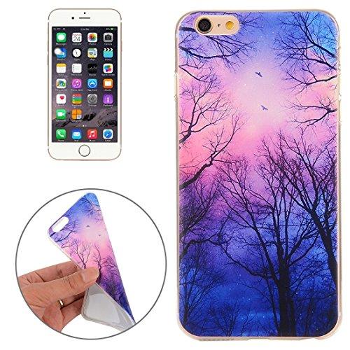 Phone Taschen & Schalen Für iPhone 6 Plus & 6s Plus Abstrakt Wolf Kopf Muster TPU Schutzhülle ( SKU : IP6P2347Q )