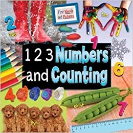 79012ba725a 1 2 3 Numbers and Counting (First Words and Pictures) Library Binding –  Import