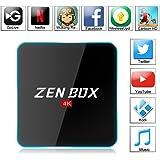 Zenoplige ZEN BOX Z2 4K アンドロイドTVボックス Fully Loaded Android 6.0 Amlogic S912 Cortex-A53 64bits KODI GoogleスマートTVチューナー (3G+32G)