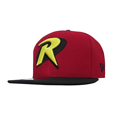 Dc Comics Robin Symbol Red 9fifty Cap Amazon Clothing