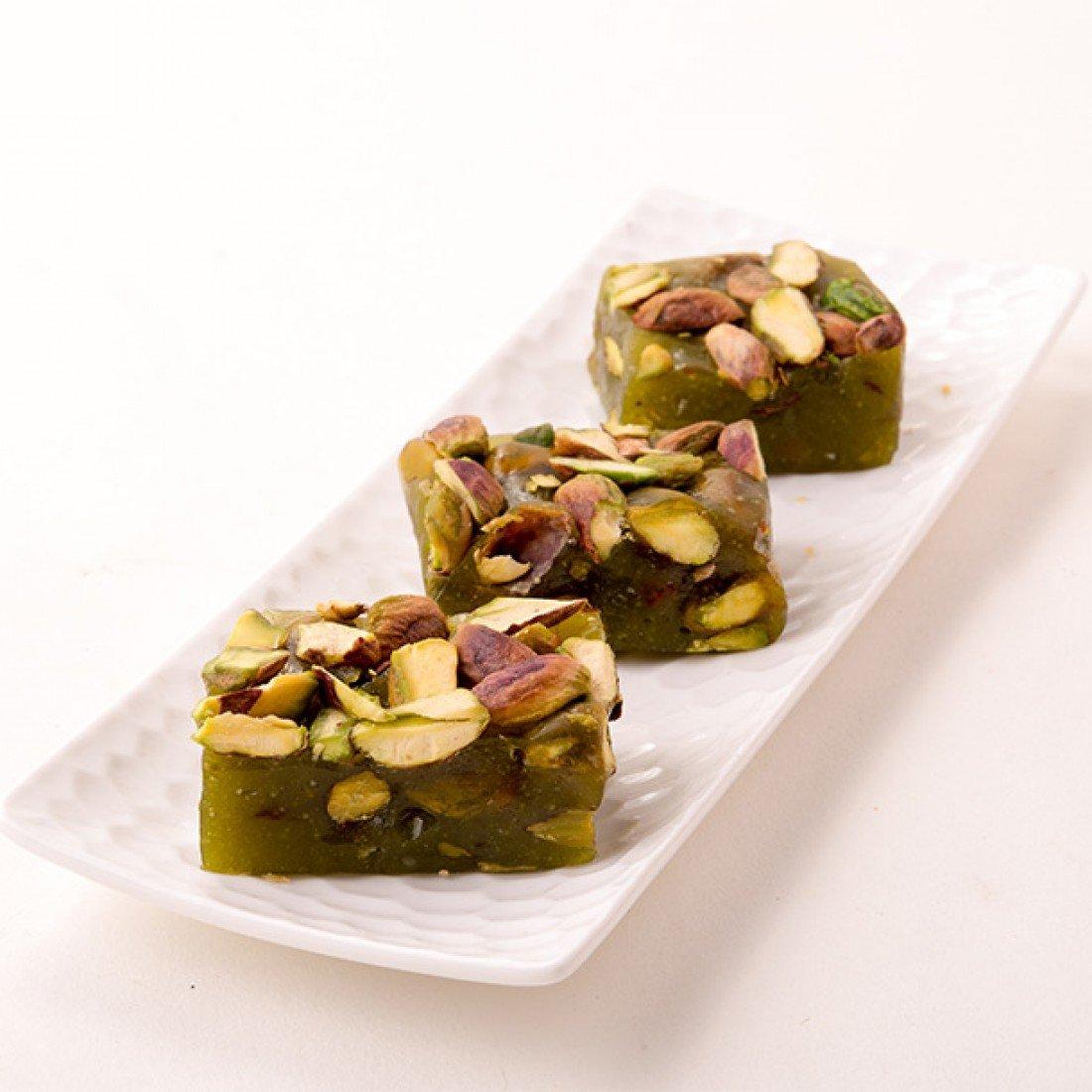 Punjabi Chandu Halwai (Mumbai) Special Pista Indian Halwa Sweet - 500 gm