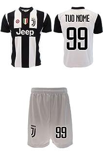 f4a60b3247 Completo Juventus Ufficiale Personalizzato 2018/2019 Juve Nome e Numero a  Scelta Maglia + Pantaloncini