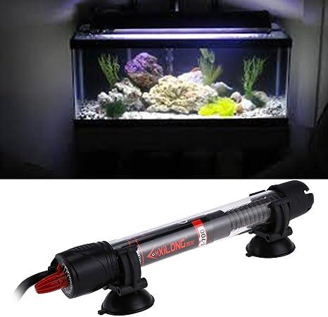 25w Automatic Aquarium Fish Tank Blastproof Water Adjustable Temperature Thermostat Heater Rod
