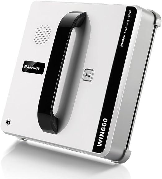 Alfawise WIN660 Robot limpiacristales/limpiaventanas automáticas ...