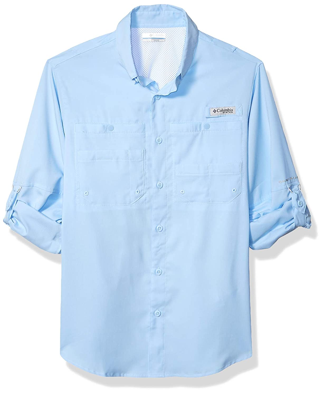 dee52abd Amazon.com: Columbia Men's PFG Tamiami II Long Sleeve Shirt — Big: Clothing
