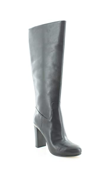 77b9099fb7c Michael Michael Kors Womens Janice Boot Leather Round Toe Knee