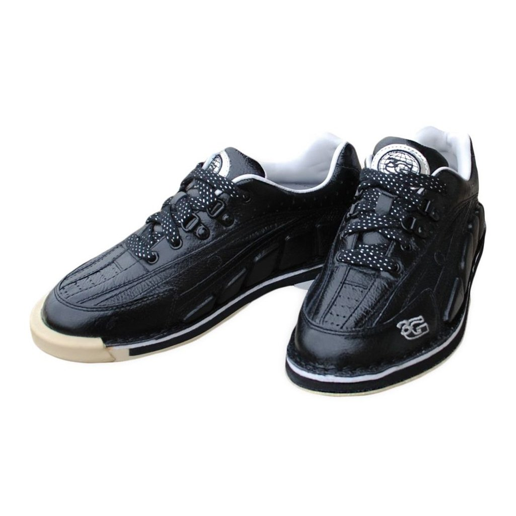 3G Mens Tour Ultra Black Bowling Shoes- Right Hand (8 M US, Black)