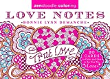 Zendoodle Coloring: Love Notes: 20 Cards to Color and Give to the One You Love