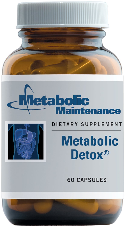 Metabolic Maintenance - Metabolic Detox - Botanical + Nutrient Liver Detox Support, 60 Capsules
