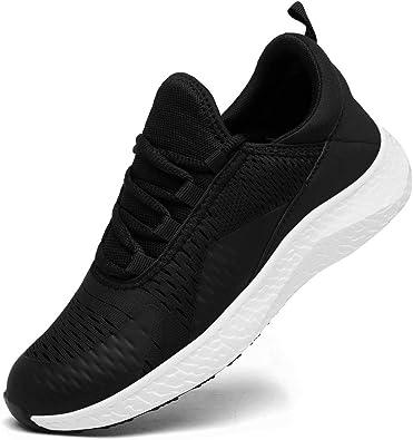 DAFENP Zapatillas Running de Deportivas para Hombre Mujer Gimnasio Sneakers Comodos Deportes Calzado Ligero Transpirable: Amazon.es: Zapatos y complementos